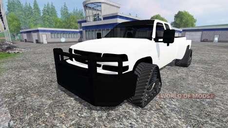 Chevrolet Silverado [tracked] для Farming Simulator 2015