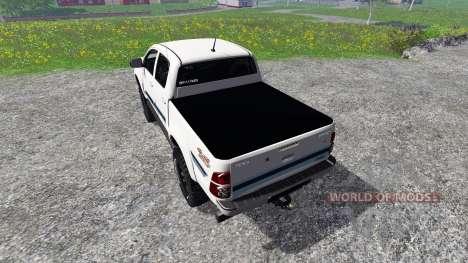 Toyota Hilux v1.2 для Farming Simulator 2015