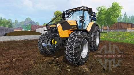 Deutz-Fahr Agrotron 7250 TTV [forestry] v1.2 для Farming Simulator 2015