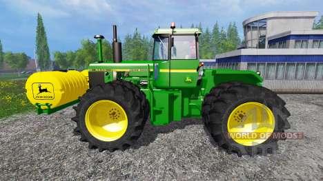 John Deere 8440 v1.1 для Farming Simulator 2015