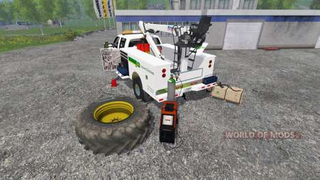 Ford F-350 Field Service для Farming Simulator 2015