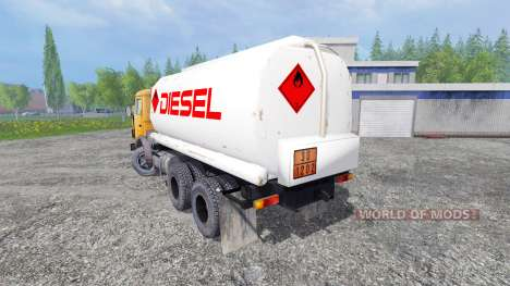 КамАЗ-55102 [топливо] для Farming Simulator 2015
