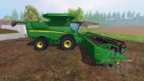 John Deere S680 [pack] для Farming Simulator 2015