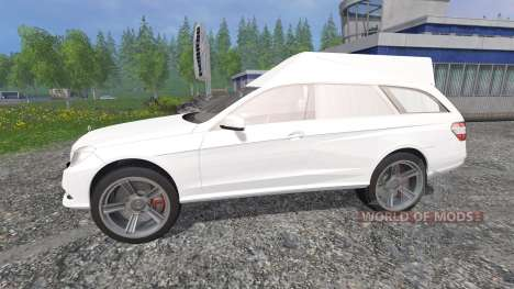 Mercedes-Benz E350 CDI Estate [hearse] для Farming Simulator 2015