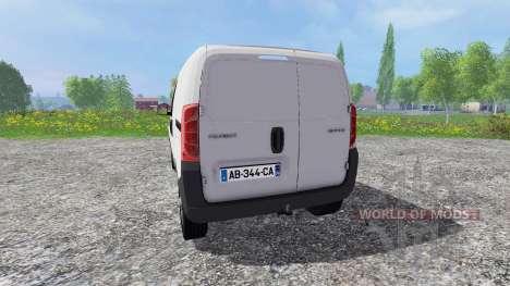 Peugeot Bipper для Farming Simulator 2015