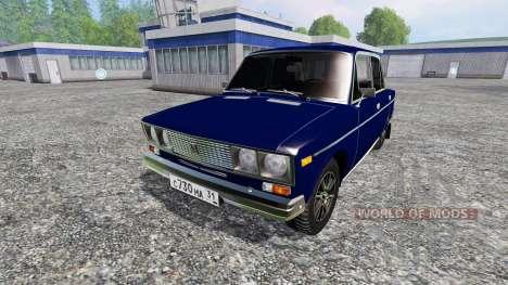 ВАЗ-2106 для Farming Simulator 2015