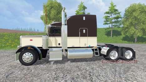Peterbilt 388 v1.1 для Farming Simulator 2015