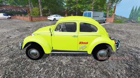 Volkswagen Beetle 1966 v1.5 для Farming Simulator 2015