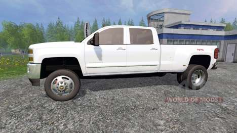Chevrolet Silverado 3500 для Farming Simulator 2015