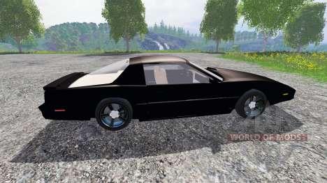 Pontiac Firebird Trans Am [K.I.T.T.] для Farming Simulator 2015