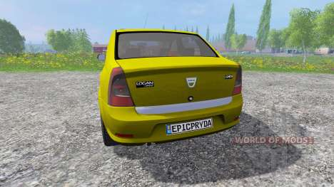 Dacia Logan для Farming Simulator 2015