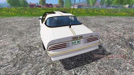 Pontiac Firebird Trans Am 1977 v1.1 для Farming Simulator 2015