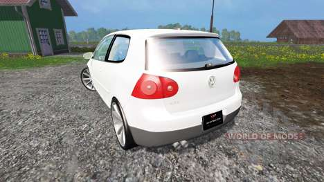 Volkswagen Golf GTI для Farming Simulator 2015