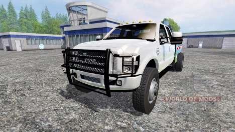 Ford F-350 [street dually] для Farming Simulator 2015