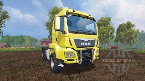 MAN TGS 18.440 [agricultural] v2.1 для Farming Simulator 2015