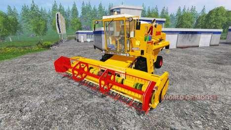 CLAAS Dominator 105 v2.0 для Farming Simulator 2015