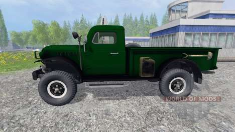 Dodge Power Wagon WM-300 для Farming Simulator 2015