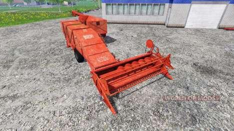 Bizon Z020 для Farming Simulator 2015