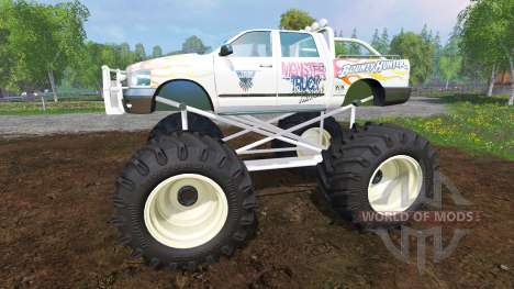 PickUp Monster Truck Jam для Farming Simulator 2015
