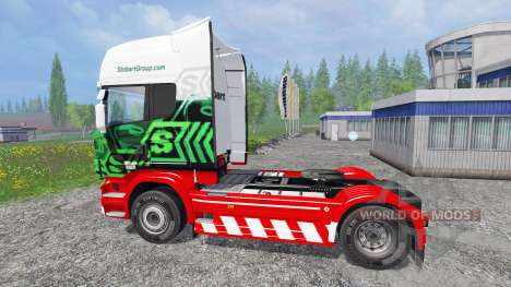 Scania R560 [eddie stobart] для Farming Simulator 2015