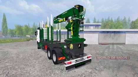 Volvo FH16 [timber carrier] для Farming Simulator 2015