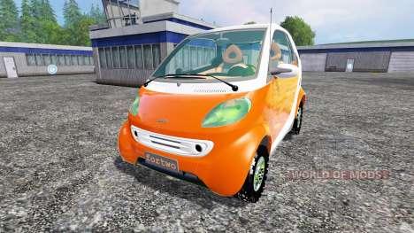 Smart ForTwo для Farming Simulator 2015