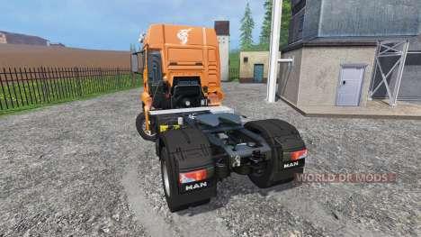 MAN TGS 18.440 v2.0 для Farming Simulator 2015