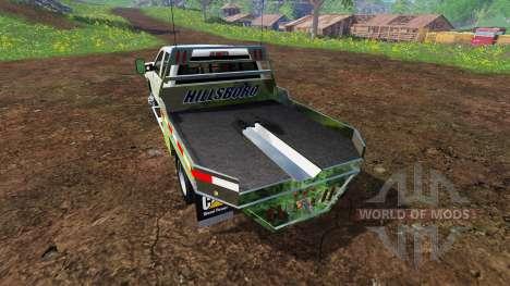 Chevrolet Silverado 3500 [flatbed] v7.0 для Farming Simulator 2015