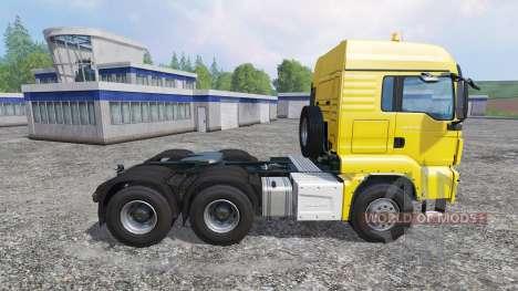 MAN TGS 18.440 6X6 для Farming Simulator 2015
