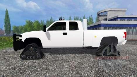 Chevrolet Silverado [brush truck] для Farming Simulator 2015