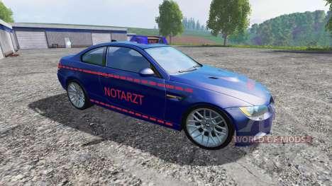 BMW M3 (E92) Notartzt v1.2 для Farming Simulator 2015