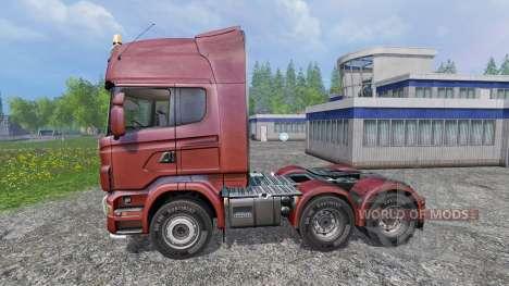 Scania R730 [Topline] для Farming Simulator 2015
