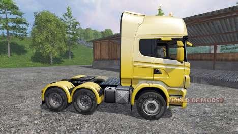 Scania R730 [Lux] для Farming Simulator 2015