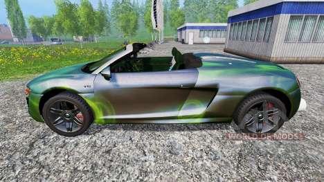 Audi R8 Spyder [NOS] для Farming Simulator 2015