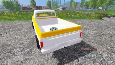 GMC C1500 1969 для Farming Simulator 2015