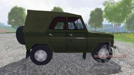 УАЗ-469 для Farming Simulator 2015