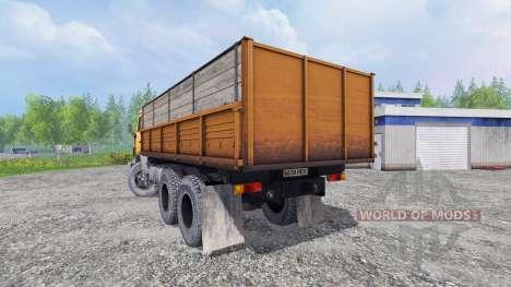 КамАЗ-55102 v1.2 для Farming Simulator 2015