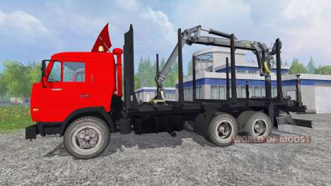 КамАЗ-54115 [лесовоз] для Farming Simulator 2015