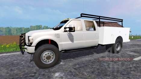 Ford F-350 [service truck] для Farming Simulator 2015
