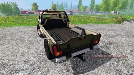 Gekko Utility Vehicle v1.0 для Farming Simulator 2015