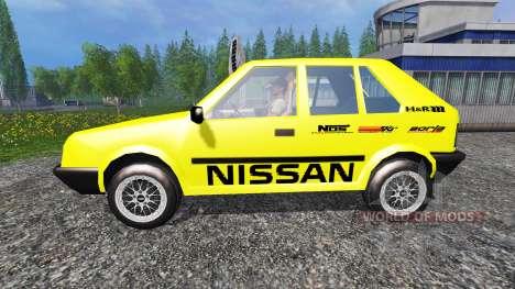 Nissan Micra [racing edition] v2.0 для Farming Simulator 2015