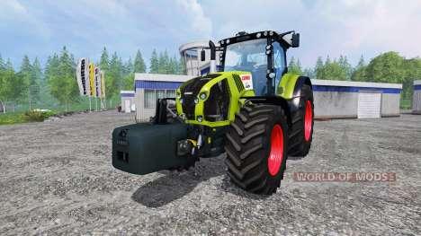 CLAAS Axion 870 v1.5 для Farming Simulator 2015