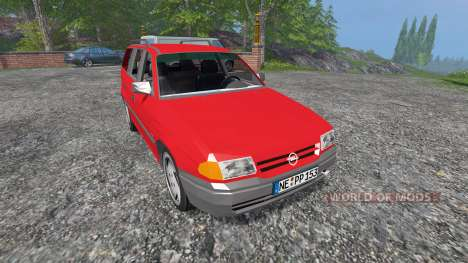 Opel Astra F Caravan v2.0 для Farming Simulator 2015