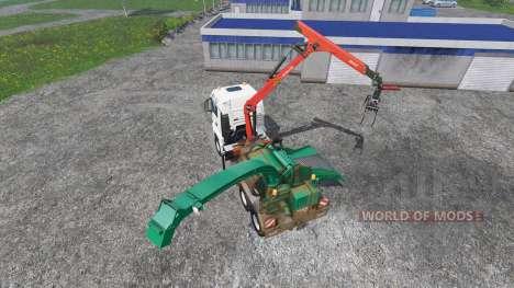 MAN TGS mobile hacker для Farming Simulator 2015