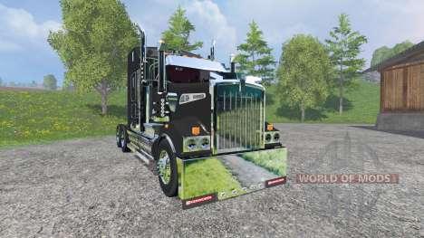 Kenworth T908 v1.1 для Farming Simulator 2015