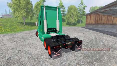 Kenworth T2000 [aguas tenias edition] для Farming Simulator 2015
