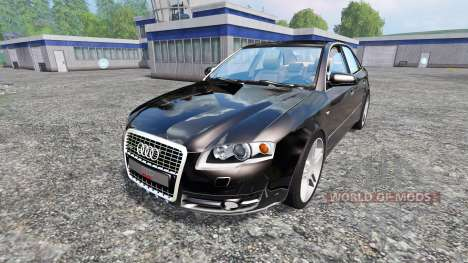 Audi A4 Quattro v1.2 для Farming Simulator 2015