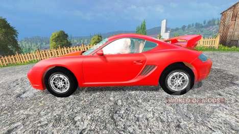 Porsche Cayman v1.2 для Farming Simulator 2015