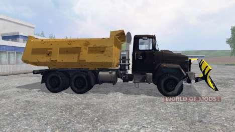 КрАЗ-6510 [снегоочиститель] для Farming Simulator 2015
