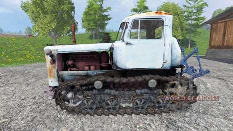 ДТ-75М Казахстан для Farming Simulator 2015